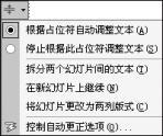 PowerPoint文本框中文本字号随我定